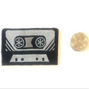 Accessories - Cassette tape patch retro